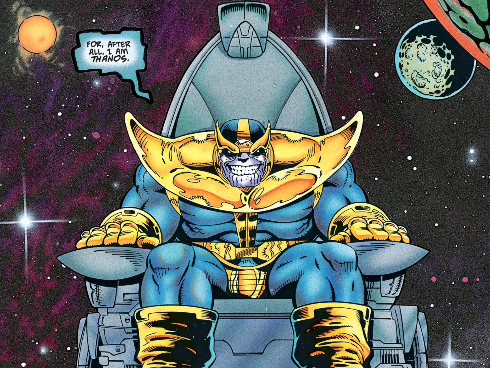 Infinity Week The Comics Of Thanos