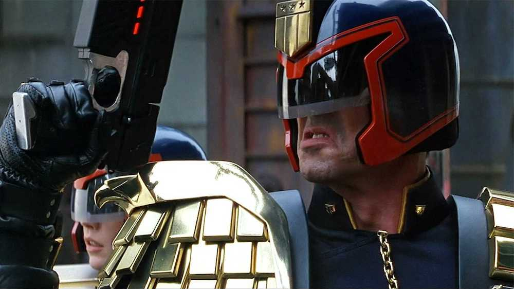 Stallone Dredd
